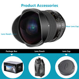 Neewer Pro 8mm f/3.5 Aspherical HD Fisheye Lens for Nikon DSLR 8-8mm - neewer.com