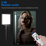 Neewer Foldable 256 LED Lighting Panel on Frabic with 2.4G 4-Channel Remote Control and AC
