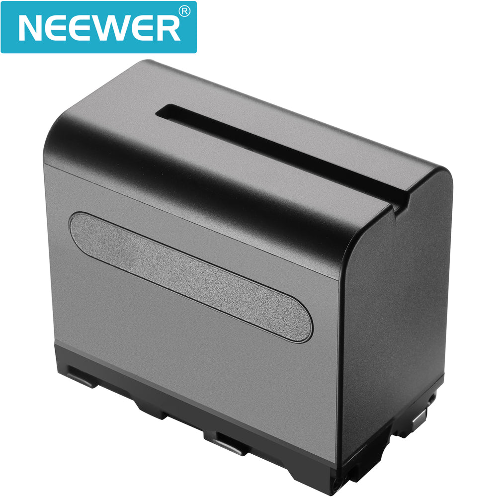 Neewer 6600mAh Li-ion Battery, Replacement Battery for Sony