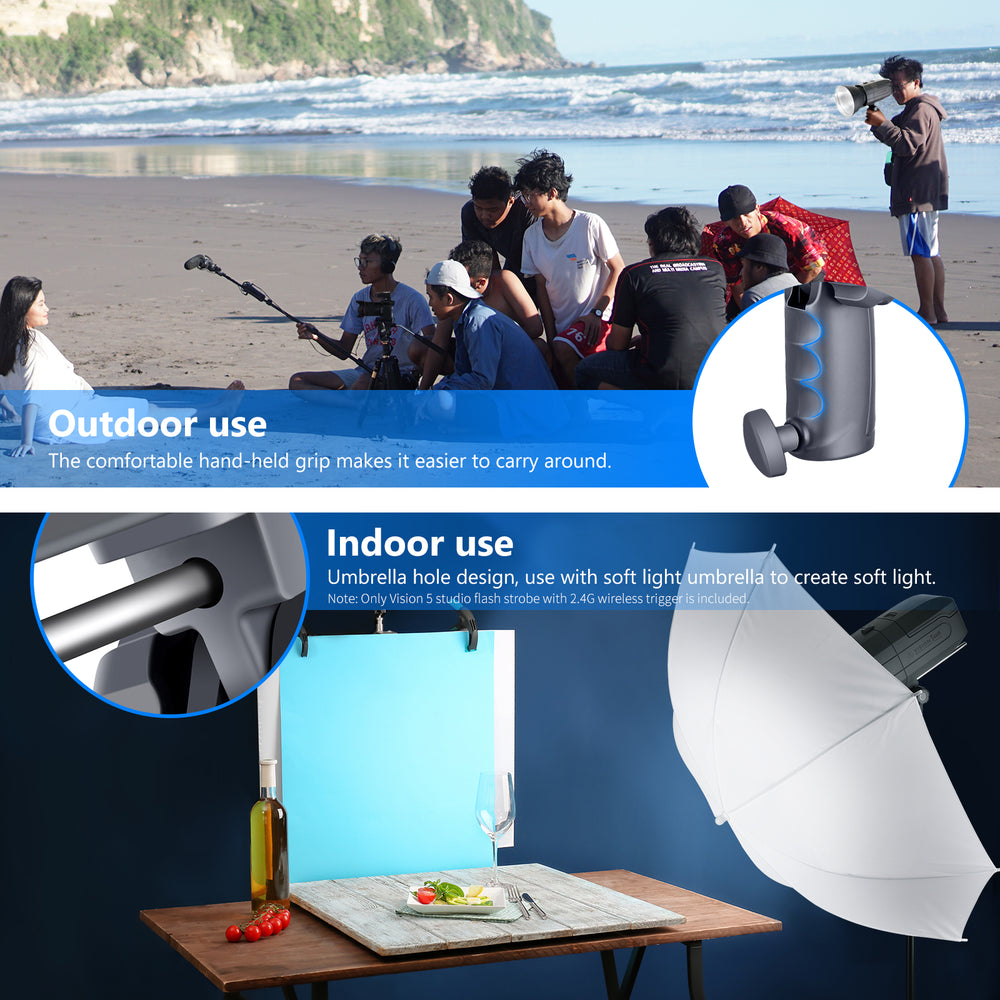 Neewer Vision5 400W TTL for CANON HSS Outdoor Studio Flash Strobe Light - neewer.com