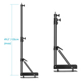 "Neewer Aluminum Alloy Max Length 49""/125 Centimeters Triangle Wall Mounting Boom Arm - neewer.com"