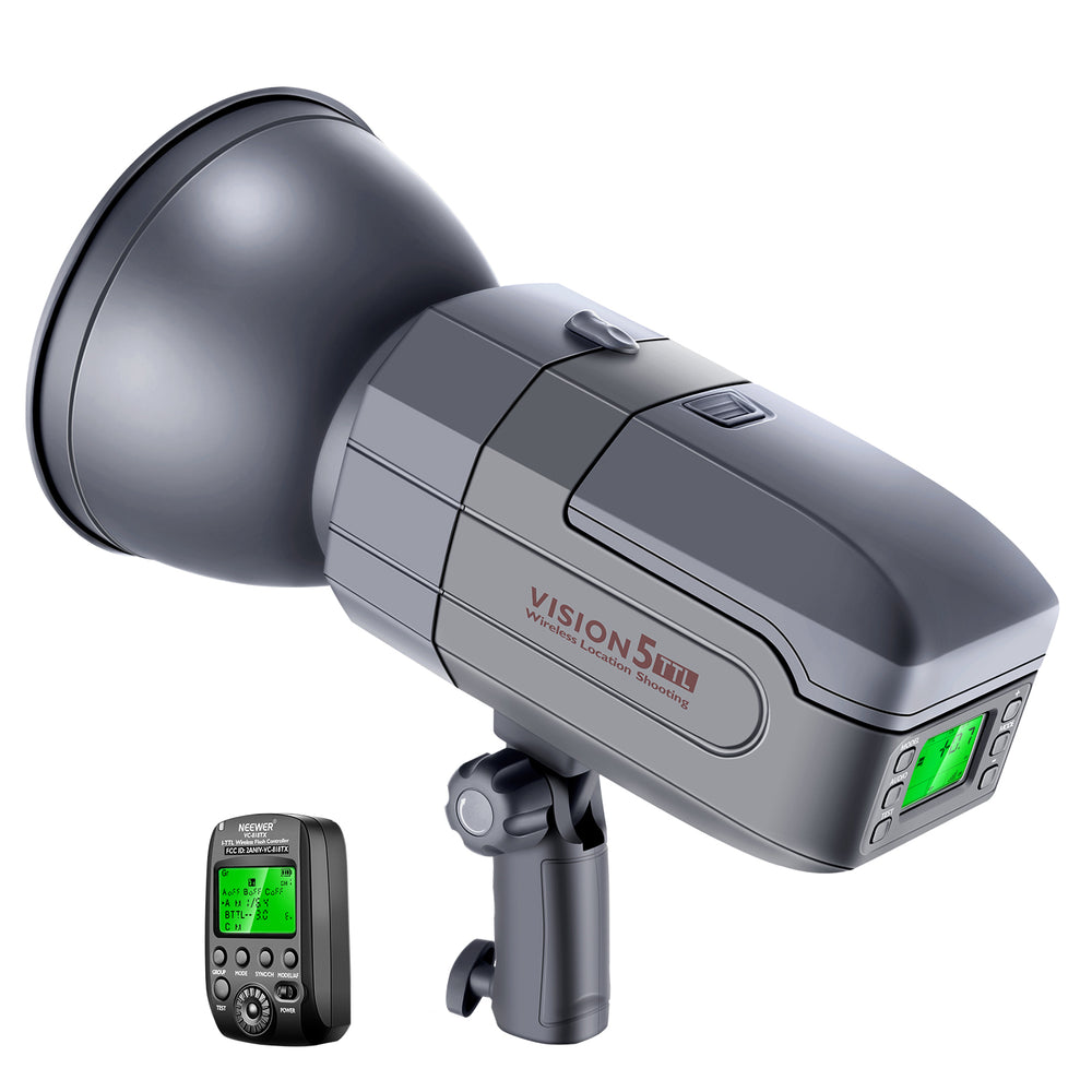 Neewer Vision5 400W i-TTL for NIKON HSS Outdoor Studio Flash Strobe Light - neewer.com