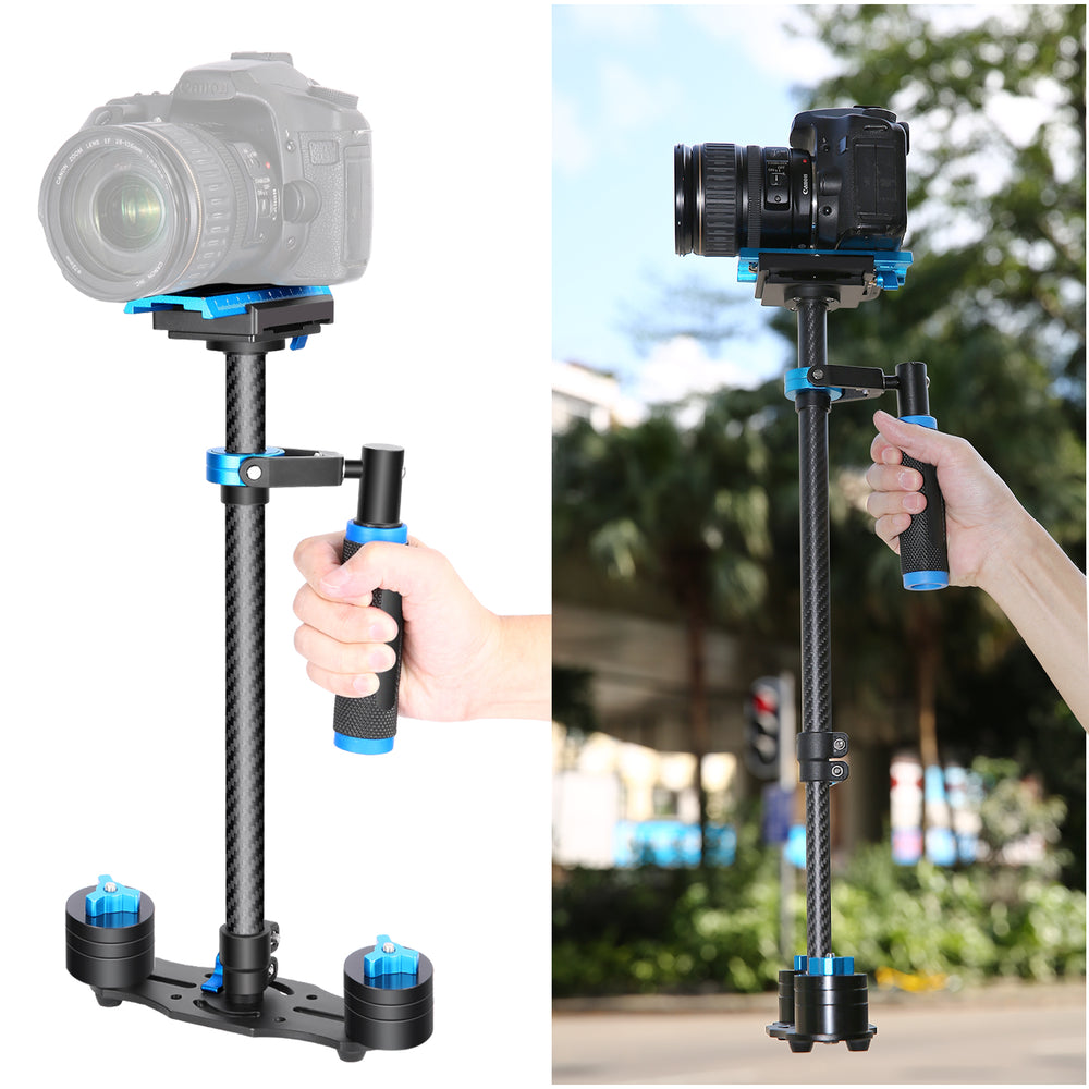 "Neewer Carbon Fiber 24""/60cm Handheld Stabilizer for DSLR,Video Camera - neewer.com"