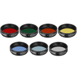 Neewer 1.25 inches Telescope Moon Filter, CPL Filter, 5 Color Filters