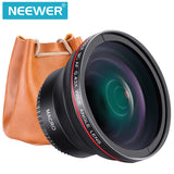 Neewer 52MM 0.43x Professional HD Wide Angle Lens (Macro Portion) for NIKON DSLR Cameras
