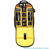 Neewer 2-in-1 Wheeled Camera Backpack Luggage Trolley Case