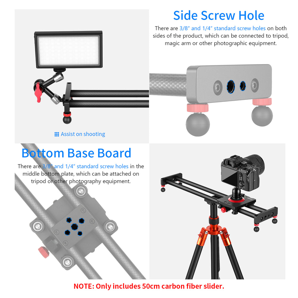 Neewer Video Camera Supports Slider
