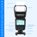 Neewer NW625 Camera Speedlite Flash