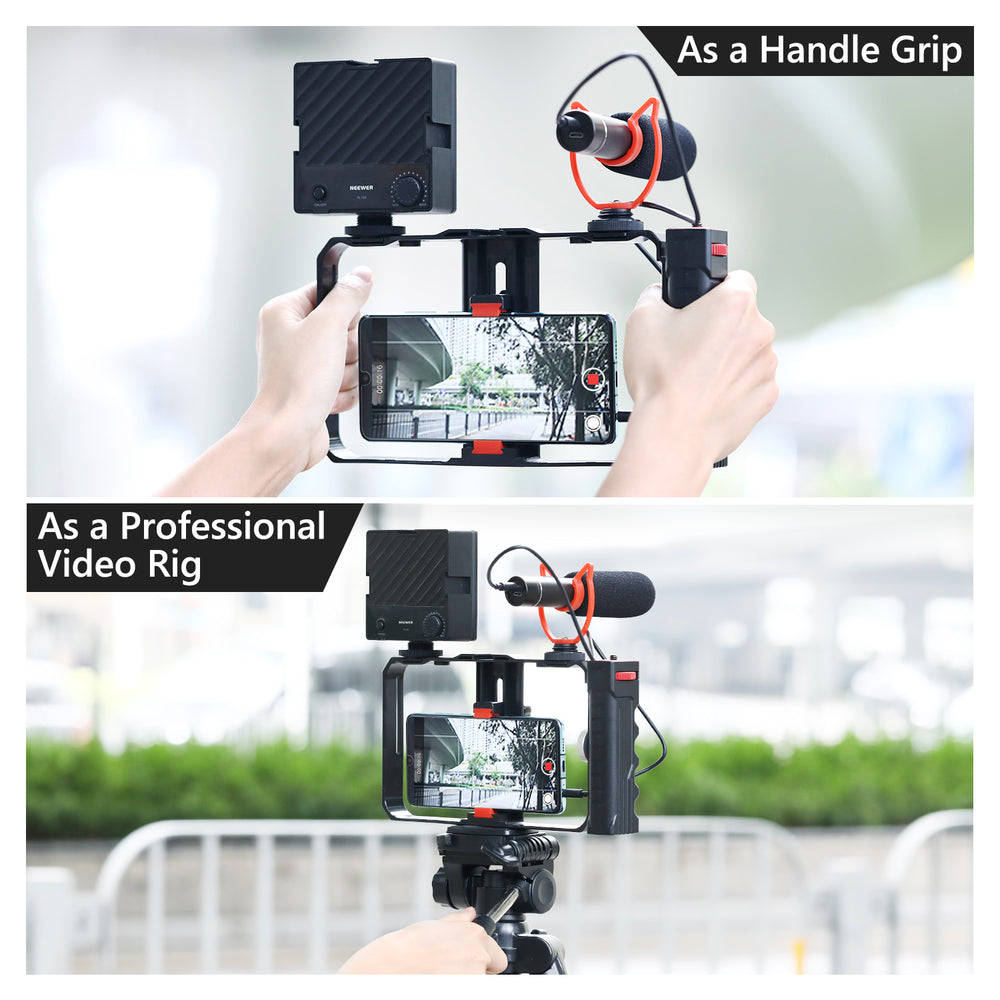 Neewer Video Camera Supports Tripod Head and Accessories