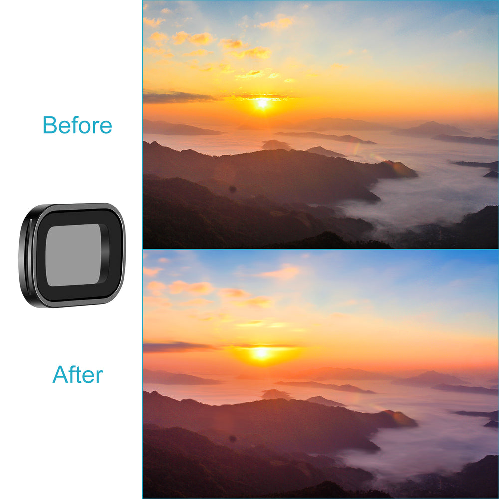 Neewer Magnetic Filter Set for DJI Osmo Pocket Gimbal Handheld Camera
