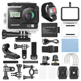 Neewer G2 4K Ultra HD WiFi Waterproof Sports Action Camera with Touch Screen