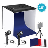 Neewer 16x16 inches Table Top Photography Studio Lighting Light Tent Kit