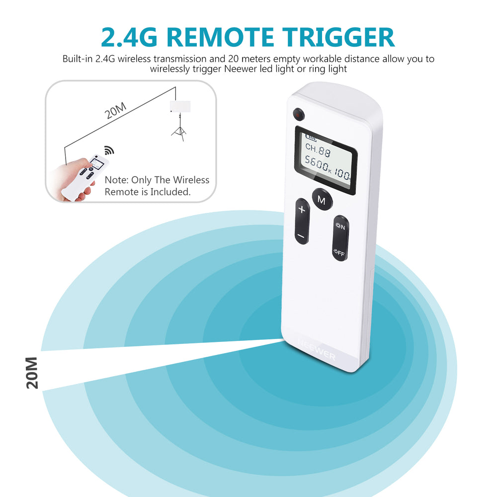 Neewer RT-100 2.4G Wireless Remote ( available in US location)