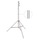 Neewer Heavy-Duty Light Stand 13 Feet/4 Meters Spring Cushioned Aluminum Alloy Pro Photography Tripod Stand
