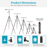 Neewer LED Ring Light Selfie Ring Light Kit with 54-inch Tripod Stand and Phone Holder