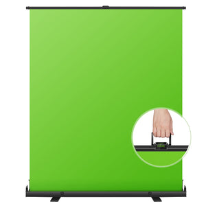 Neewer Green Screen Green Pull-up Style with Auto-Locking Frame Backdrop