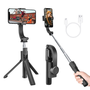 Neewer 1-Axis Handheld Gimbal Stabilizer with Built-in Wireless Remote