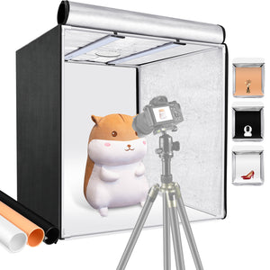 Neewer Professional Photo Light Box Adjustable Brightness Studio Photography Lighting Shooting Tent