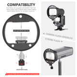 Neewer Camera Flash Head Kit,Compatible with  Neewer TT560 NW561 NW625 NW635 NW645 NW655 NW-670 750II Speedlites and Q3 AD200 AD200Pro Flash Strobe