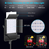 Neewer NL140 Bi-Color Dimmable LED Video Light with APP Control