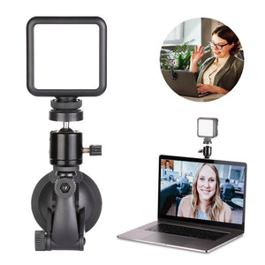 Neewer W49S Video Conference Lighting Kit, Dimmable Laptop Light with Strong Suction Cup and Ball Head