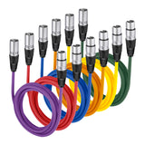 6-Pack ,Microphone Cables