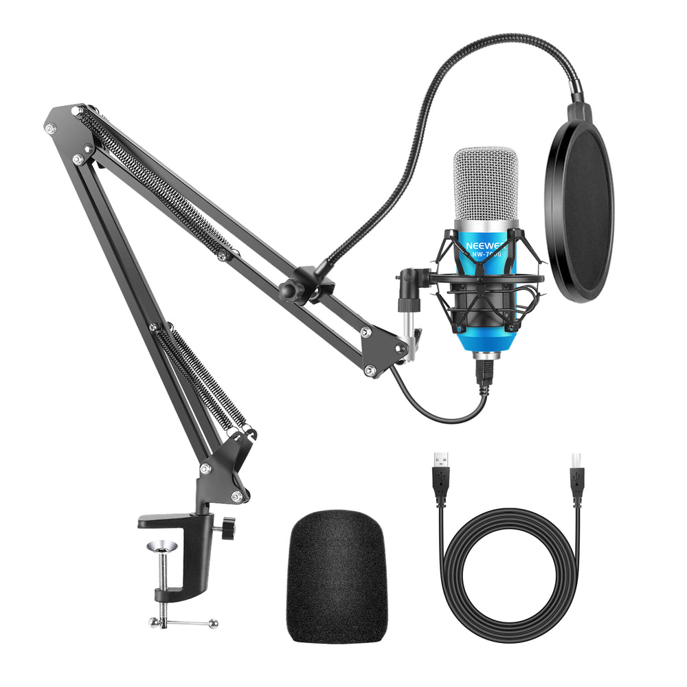 Neewer NW-7000 USB Microphone 4-in-1 kit for Windows and Mac - neewer.com