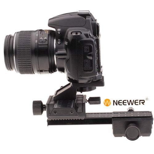 Neewer Pro 4-Way Macro Focusing Focus Rail Slider for Close-Up Shooting - neewer.com
