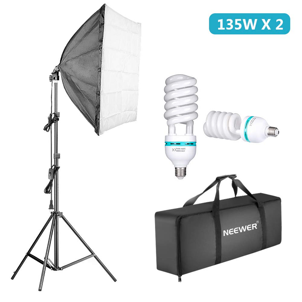 Neewer 1350W Photography Continuous Softbox Lighting Photo Studio
