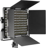 Neewer 3 Packs 660 LED Video Light with LCD Screen Photography Lighting Kit with Stand