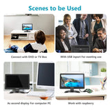 Neewer 11.6 inch HDMI Small Portable TV 1920x1080 16:9 TFT-IPS LCD Screen