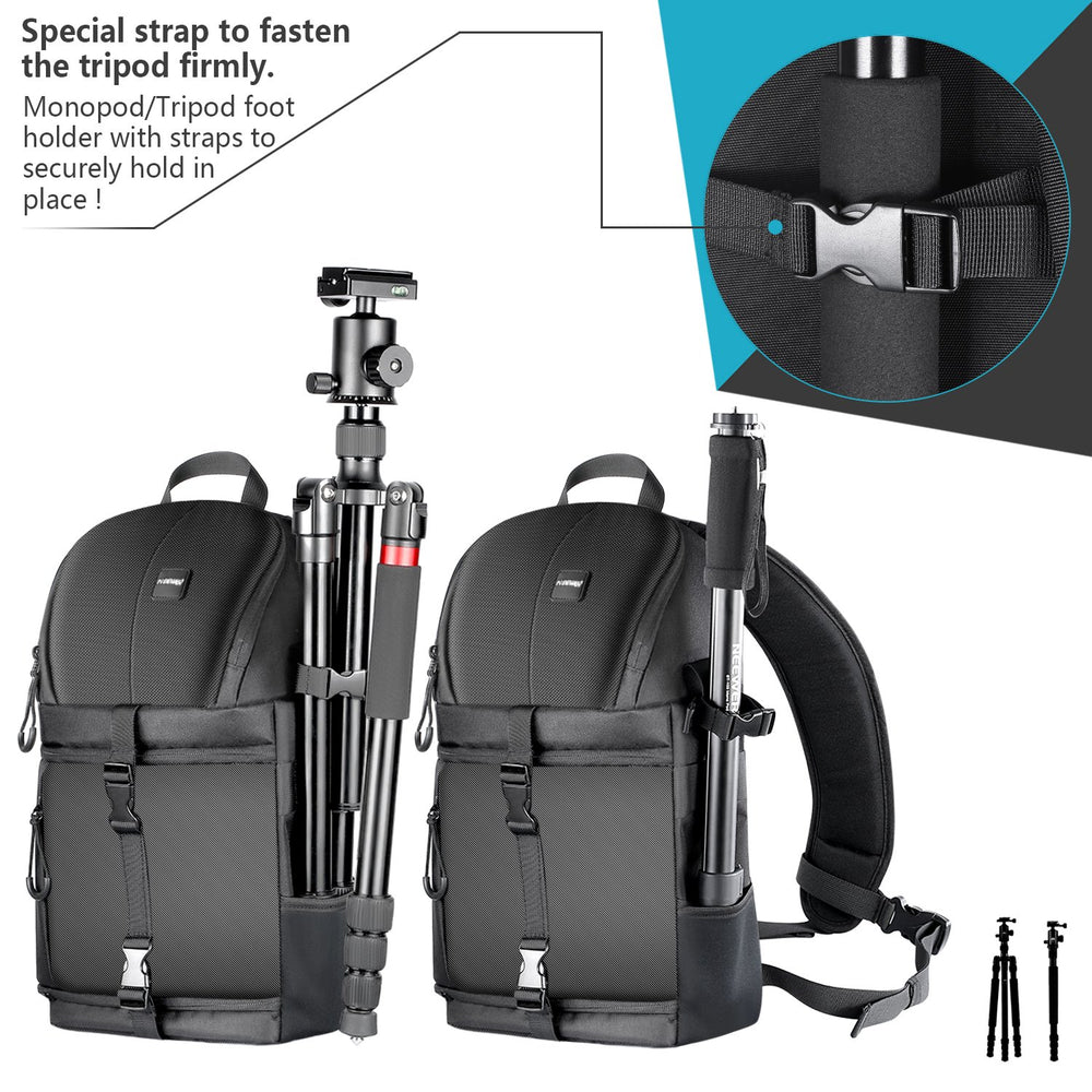Neewer Camera Case Sling Backpack with Padded Dividers for DSLR