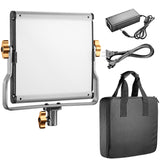 Neewer Dimmable Bi-Color 480 LED Light Panel with U Bracket, Battery and USB Charger - neewer.com