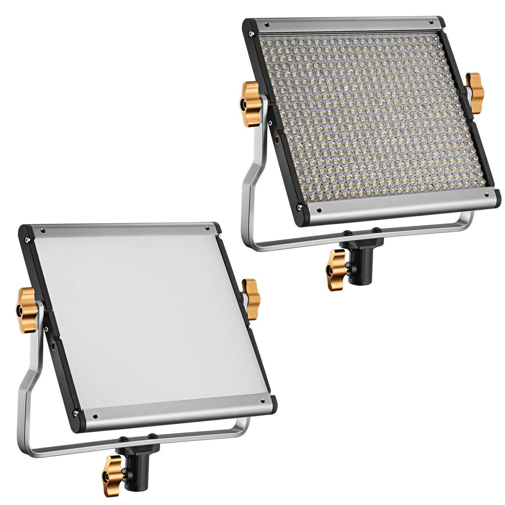 Neewer 2 Packs Dimmable Bi-color 480 LED Video Light and Stand Kit with Battery and Charger - neewer.com