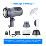 Neewer 2 x Vision4 Studio Flash Strobe Kit with Trigger and Softbox