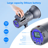 Neewer Vision 4 Studio Flash Strobe with Trigger and Reflector