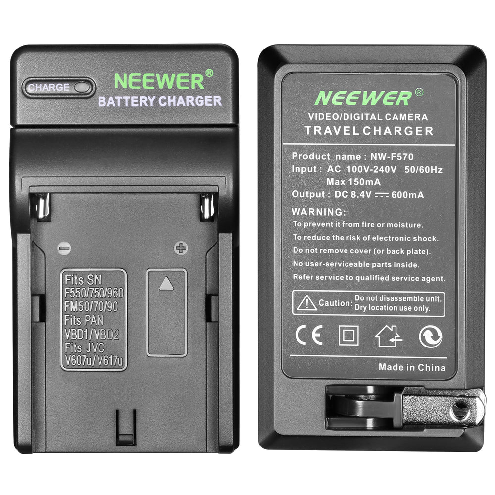 Neewer Dimmable 176 LED Video Light with 2600mAh Li-ion Battery