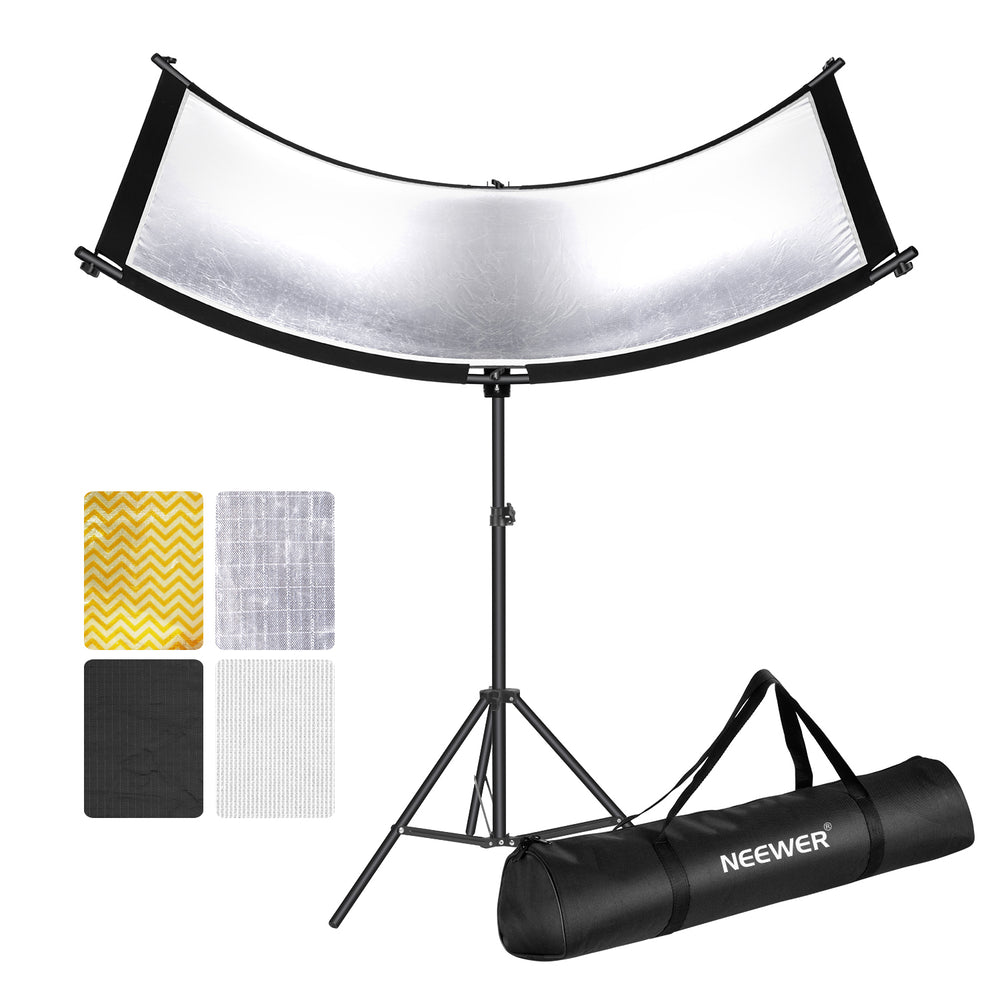 Neewer Clamshell Light Reflector/Diffuser for Studio and Photography with Carry Bag