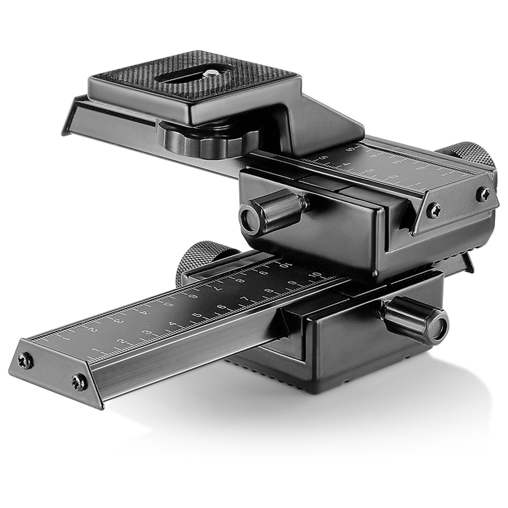Neewer 4-Way Macro Focus Rail Slider/Close-Up Shooting with 6-in-1 Timer Shutter