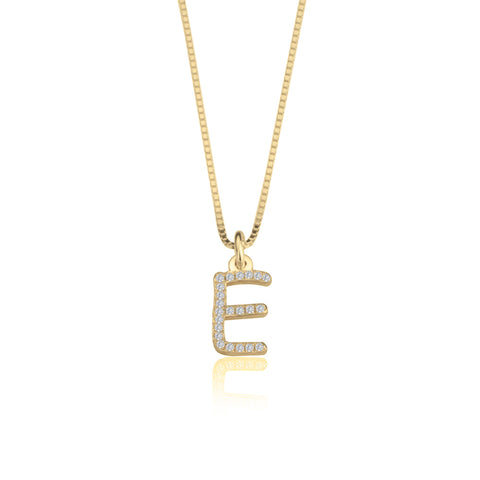 Image of CZ Initial Necklace