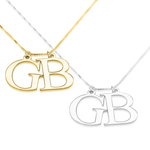 Initials Name Necklace