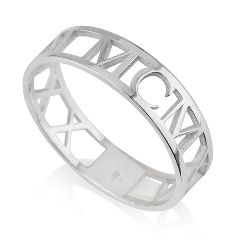 Image of Roman Numeral Ring