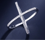 Eternity Cross Ring