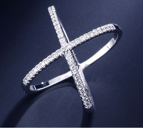Image of Eternity Cross Ring