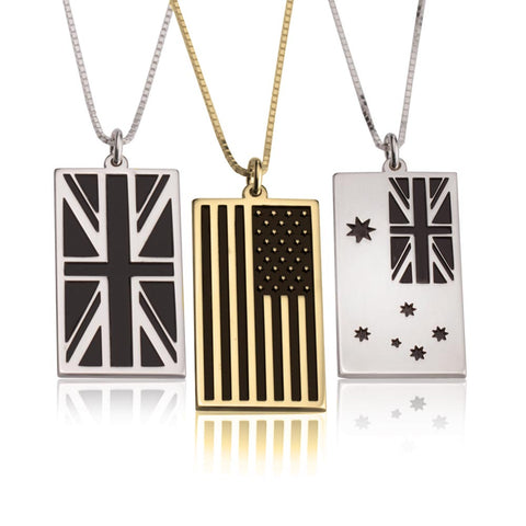 Flag Necklace