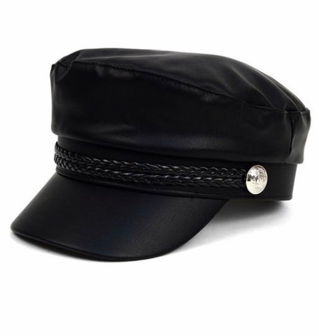 Image of Classic Leather Cap