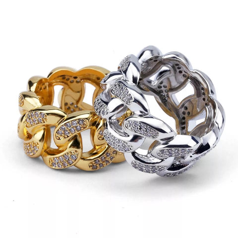 Unisex Cuban Link Ring