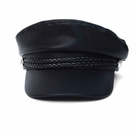 Classic Leather Cap