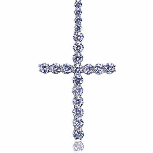 Unisex Diamond Cross
