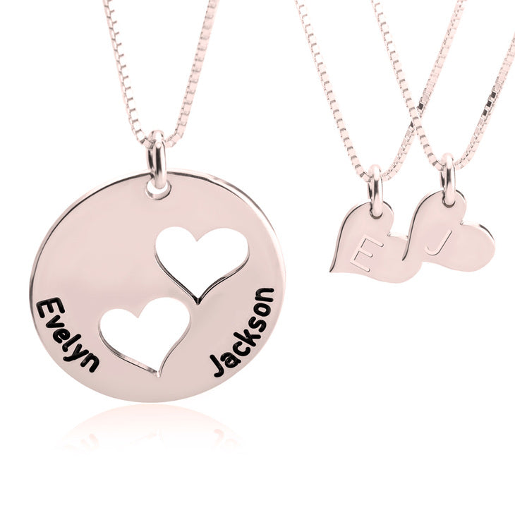 Mother/Daughter Necklace Set